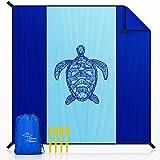 OCOOPA Stranddecke sandfrei XXL, 300x280cm Extra groß, Picknickdeck wasserdicht weiches und...