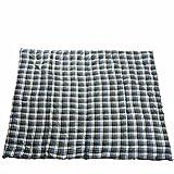 Anaterra Decke Picknickdecke 200 x 150 cm/gefüllt/Wasserabweisende Unterseite