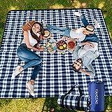 Picknickdecke Strandmatte Picknickdecke 200 x 200 cm Picknickdecke XXL ,Picknickdecke Wasserdicht...