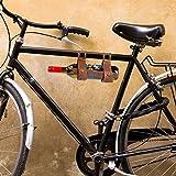 CKB Ltd Weinflaschenhalter aus Leder, Flaschenhalter ideal für Wein für ein Picknick oder Ausflug