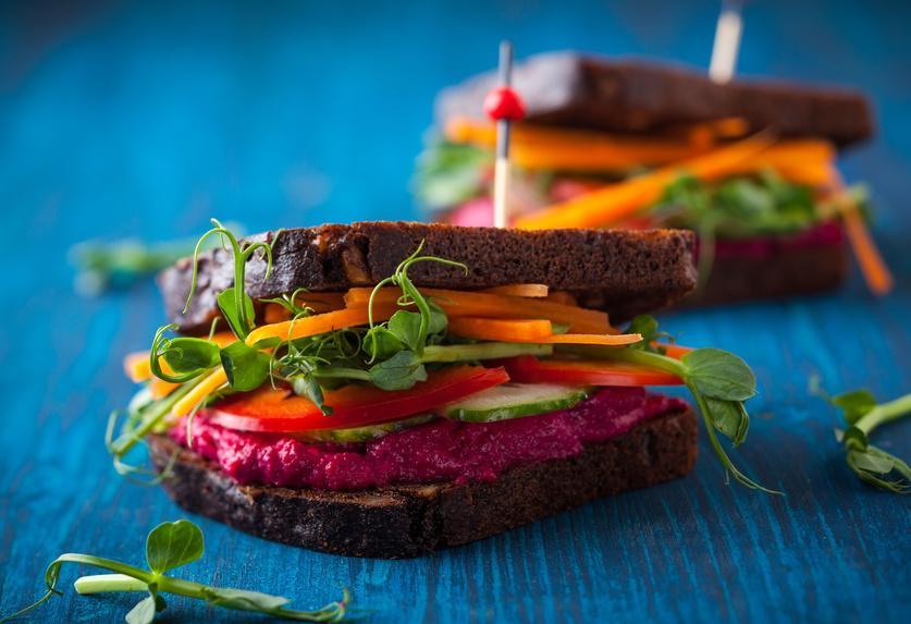 Der perfekte Picknick-Snack Sandwiches