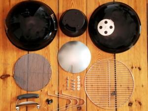 Weber Holzkohlegrill Smokey Joe : How to season a grill weber smokey joe silver youtube