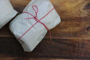 Sandwich verpacken