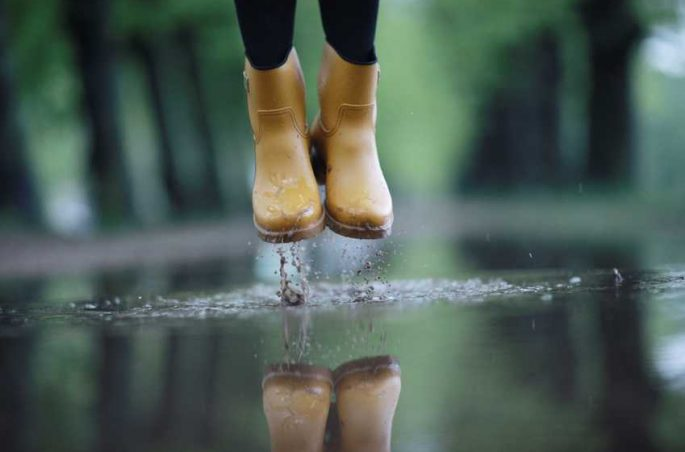Picknick bei Regen, Wind & Wetter