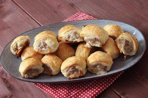 British Sausage Rolls - Rezept und Zubereitung