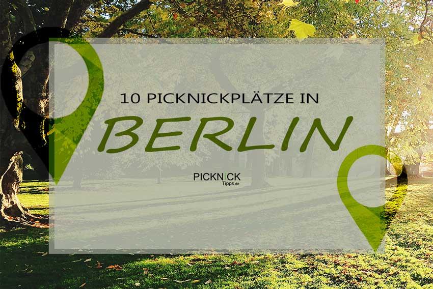 Picknickplätze in Berlin